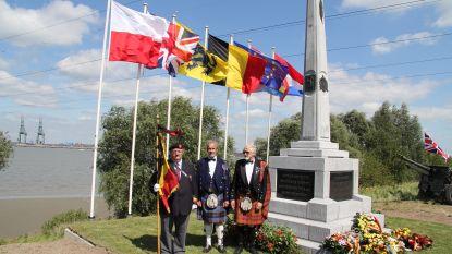 Herdenking aan Brits monument laat Doel links liggen