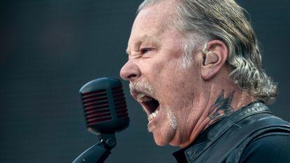 """Metallica annuleert twee festivals wegens behandeling Hetfield: """"Maar het gaat goed"""""""