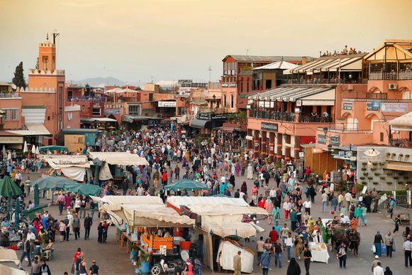 Een stad ten zuiden van Marrakech kreeg te maken met hevige regenval, nochtans zeldzaam deze tijd van het jaar.