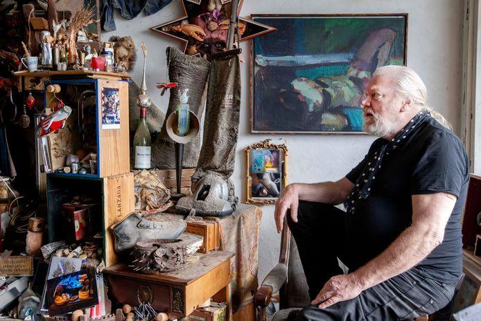 Kunstenaar Wijnand van Lieshout