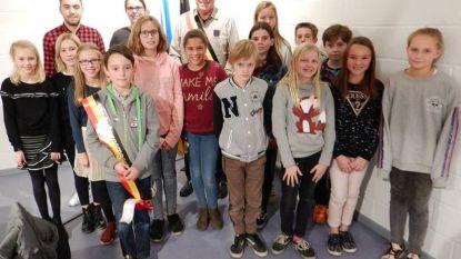 Thibaud volgt Birgit op als kinderburgemeester