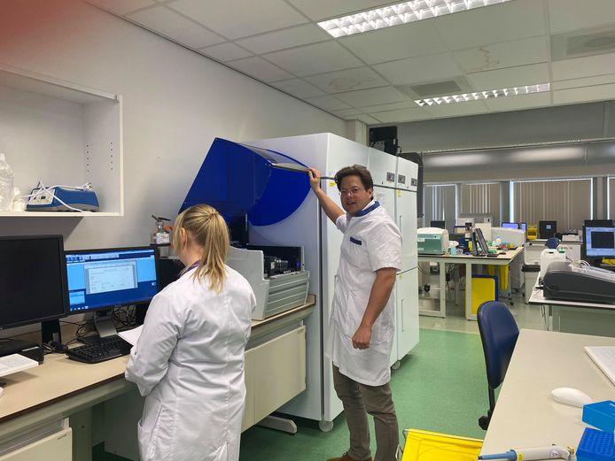 Bas Wintermans, arts-microbioloog van het Adrz in Goes.