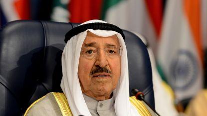 Emir van Koeweit op 91-jarige leeftijd overleden