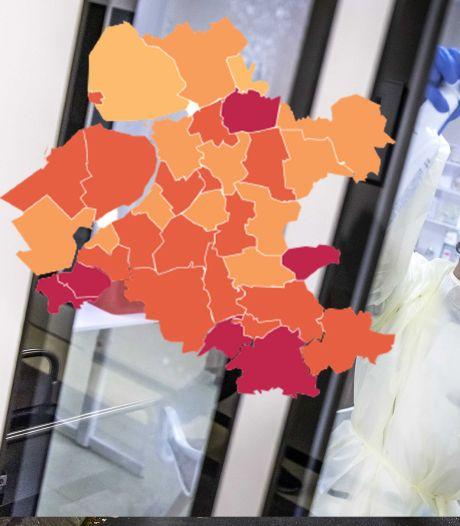 KAART | Besmettingspieken in Nijkerk en Rijssen-Holten, bekijk hier jouw gemeente