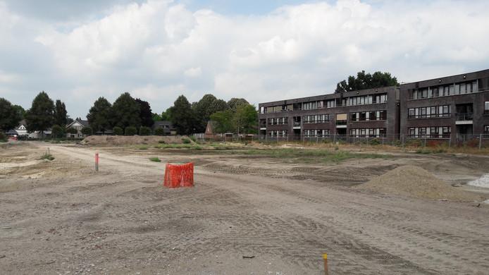 De locatie van de nieuwe appartementen van Leystromen en CPO Hof Zuiderbeek.
