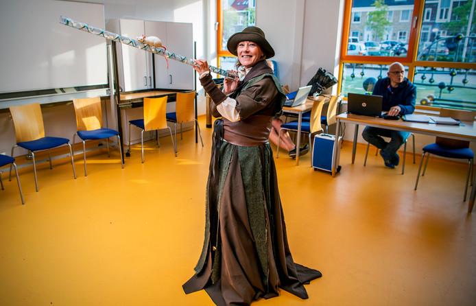 Marieke van der Putten: geen prinses maar rattenvanger.