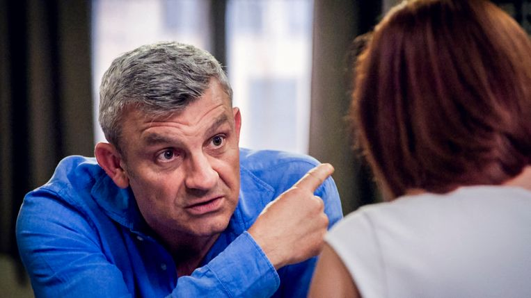 Peter Bulckaen kan zich helemaal vinden in de nieuwe, doortrapte, wraakzuchtige Mathias.