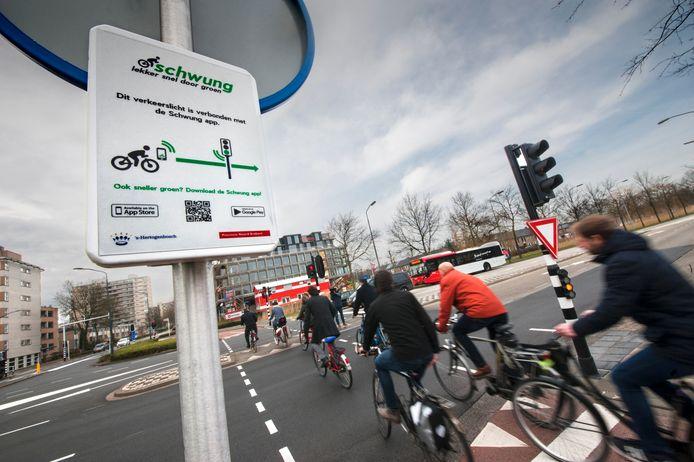 Schwung werkt in Den Bosch al bij 50 verkeerslichten.