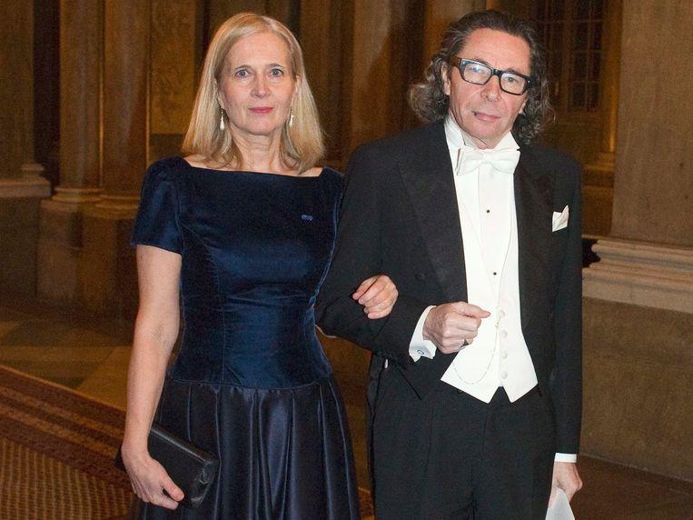 Katarina Frostenson met haar echtgenoot Jean-Claude Arnault.
