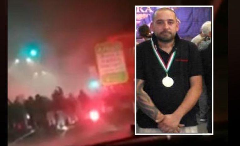 Daniele 'Dede' Belardinelli (39), een ultra van Inter Milaan,  kwam om het leven toen hij werd aangereden door een SUV met aangevallen fans van Napoli.