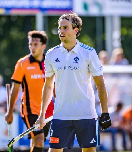 HC Tilburg-spits Scheer voorlopig uitgeschakeld na sleutelbeenbreuk