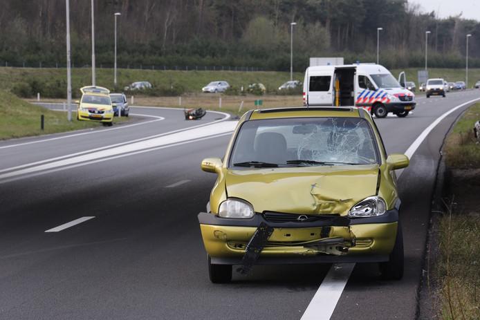 Ernstig ongeval op A50 bij Son