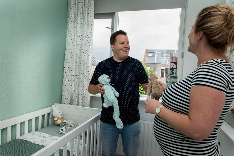 Het geboorteverlof voor partners is uitgebreid naar vijf weken. Beeld Eva Faché