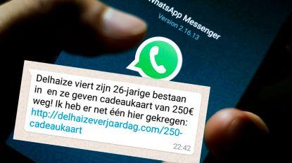 """Opgelet voor valse WhatsApp-berichten: """"Boodschap klinkt veelbelovend, maar is bedrog"""""""