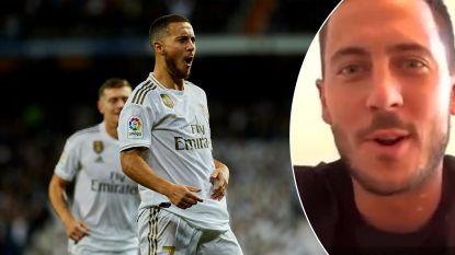 """Eden Hazard over zijn rendement en de goal die hij had willen scoren: """"Die volley van Zidane in de kruising, bye bye"""""""