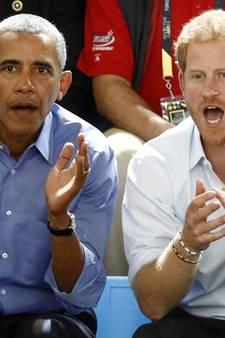 Prins Harry interviewt Barack Obama voor radioprogramma