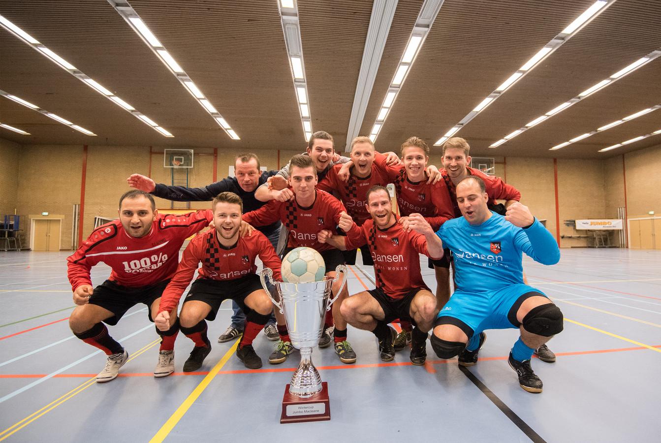 De Betuwe kent al een 'wild toernooi': de jaarlijkse Wintercup in Elst, hoewel de laatste editie niet doorging. Dit is de laatste winnaar: SC Bemmel.