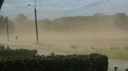 Zandstormen teisteren opnieuw buurt Oude Baan