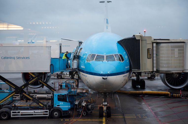 In Israël is de KLM overstag gegaan nadat de Israel Consumer Council druk had uitgeoefend op alle luchtvaartmaatschappijen die terugbetalingen afhielden.  Beeld LightRocket via Getty Images