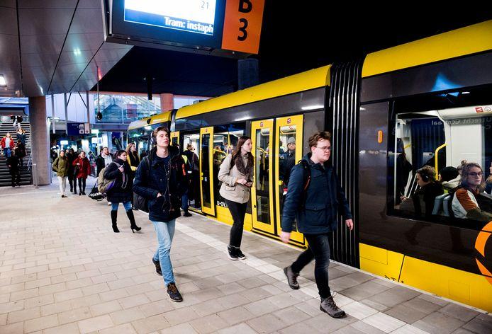 Utrecht - De Uithoflijn (Foto Marnix Schmidt)