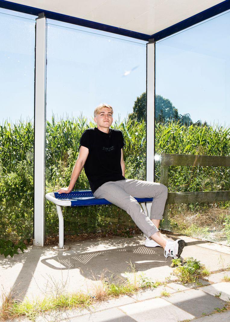 Max Mekkes (18) Beeld Hilde Harshagen