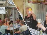 Al 25 jaar kermisgangers kijken op Dina's terras: 'Het zit elk jaar vol'