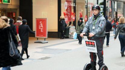 Bewakingsagenten in Brussel vangen dieven voortaan op Segways