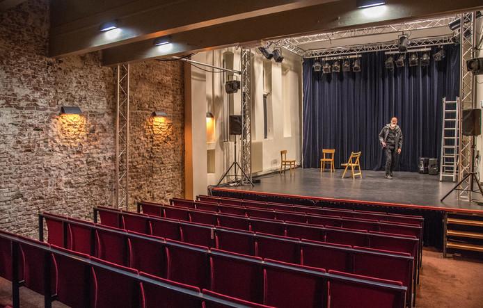 Het zaaltje van de vroegere muziekschool Muzerie gaat verdwijnen.