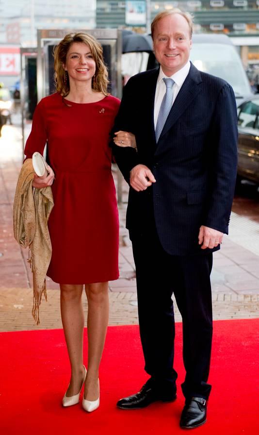 Prins Carlos de Bourbon de Parme en zijn vrouw Annemarie.