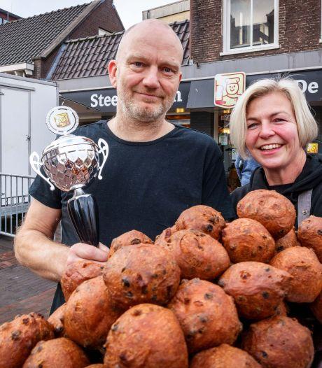 Succesvolle Meppeler oliebollenbakker Willem Steenbergen: ,,Tweede prijs smaakt naar meer''