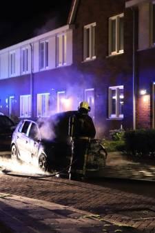 Auto uitgebrand in Gouda