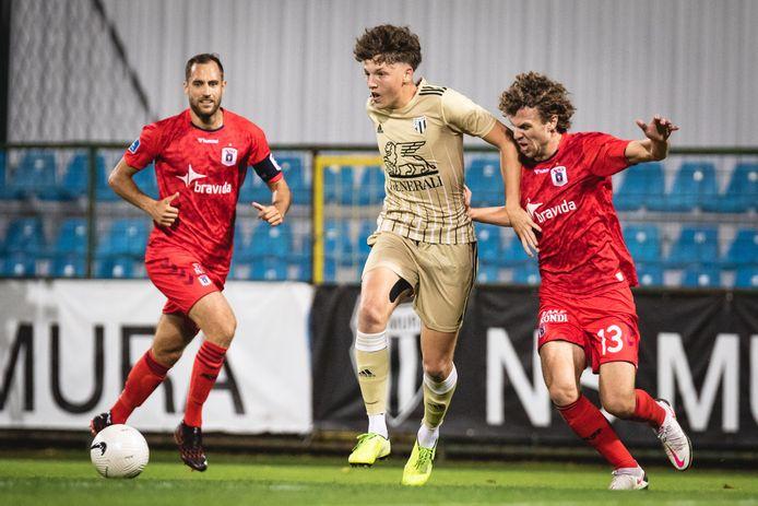 NS Mura won in de tweede voorronde met 3-0 van het Deense AGF Aarhus.