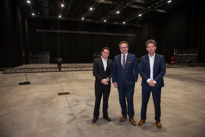 Avenue in Antwerp Expo: Alain D'Haese, Koen Kennis en Dirk Van Roy.