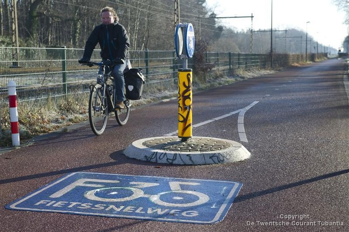 De fietssnelweg F35.