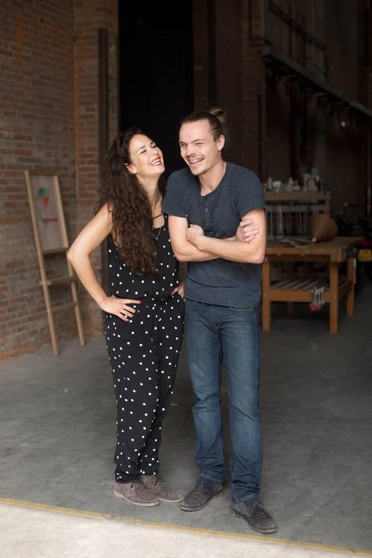 Daphna Isaacs en Laurens Manders.