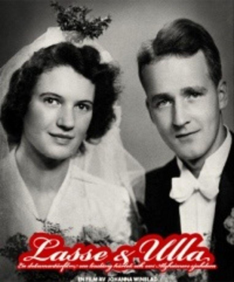 In praatcafé dementie kunnen de bezoekers genieten van de film Ulla en Lasse.
