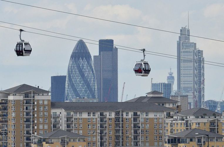 Kabelbaan Londen Beeld reuters