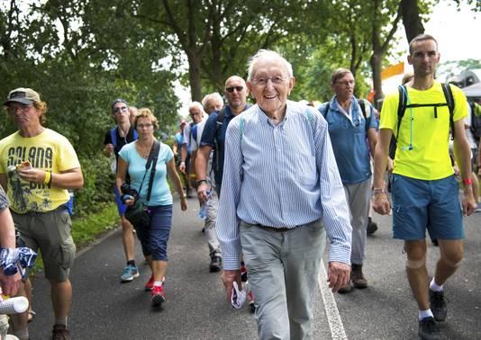 Jurgen Pal was vorig jaar de oudste deelnemer.