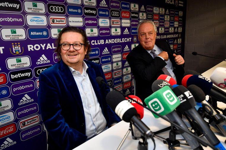 Marc Coucke wordt op 1 maart voorzitter van Anderlecht.