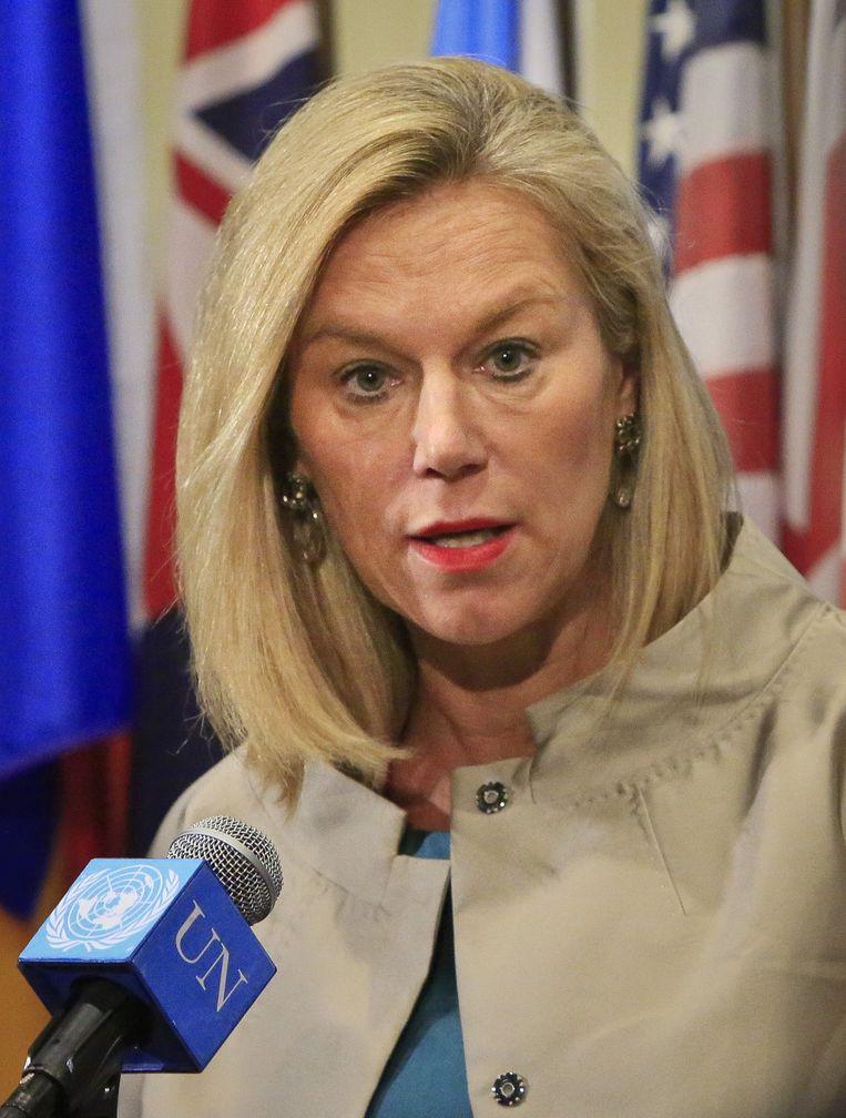 De Nederlandse VN-diplomate Sigrid Kaag. Beeld ap