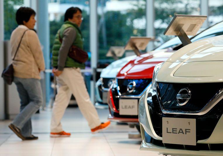 De Nissan Leaf haalde 144 in plaats van 250 kilometer.