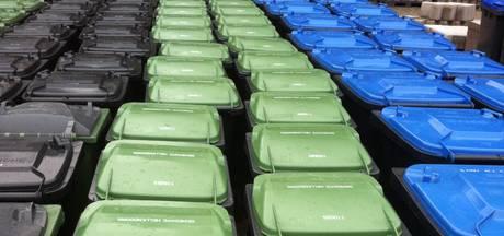 Grijze container nog vol met 'fout' afval in Werkendam