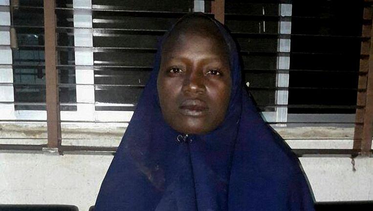 Serah Luka werd gisteren bevrijd bij een operatie van het Nigeriaanse leger