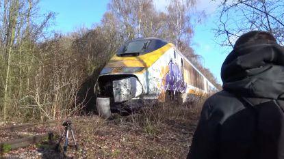 Youtuber ontdekt verlaten Eurostar in bos nabij Belgische grens