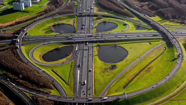 Volgens het World Economic Forum is de Nederlandse infrastructuur van wereldklasse. Beeld  John Gundlach/ANP
