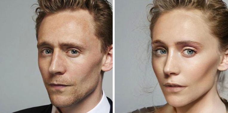 Tom Hiddleston - Loki uit 'Thor'.