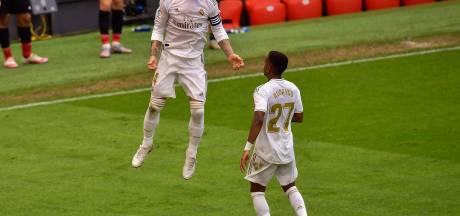 Real Madrid zet volgende stap richting titel met 22ste rake penalty op rij voor Ramos