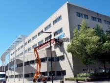Dak parkeergarage Associate degrees Academie in Roosendaal wordt compleet vervangen