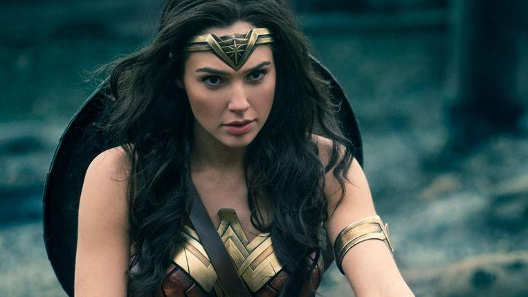 Een beeld uit 'Wonder Woman'.