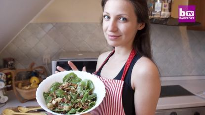 Van pannenkoeken met wormen tot chocomousse met sprinkhanen: Kremena toont lekkerste gerechtjes